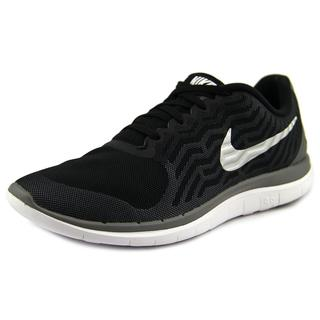 Nike Men's Free 4.0 Black Mesh Athletic Shoes