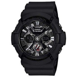 Casio Men's GA201-1A G-Shock Black Acrylic/Rubber Watch