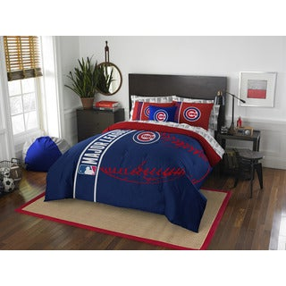 MLB 846 Cubs Full 7-piece Bed in a Bag with Sheet Set