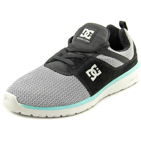 DC Shoes Men's Heathrow SE Black Textile Basic Athletic Shoes