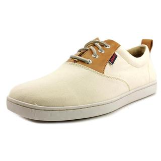 Sebago Men's 'Ryde Lace Up' Off-white Canvas Athletic Shoes