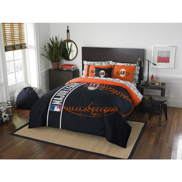 The Northwest Company MLB San Francisco Giants Full 7-piece Bed in a Bag with Sheet Set 19472617