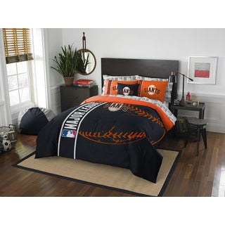 MLB 846 SF Giants Full 7-piece Bed in a Bag with Sheet Set