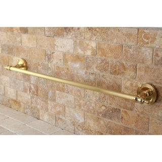 Polished Brass 18-inch Towel Bar