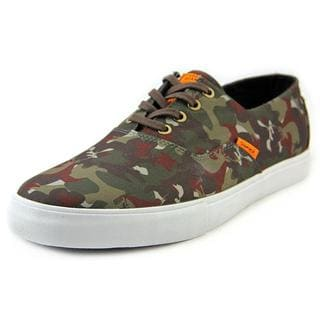 Diamond Supply Co Men's Diamond Cuts Simplicity Green Cotton Canvas Athletic Shoes