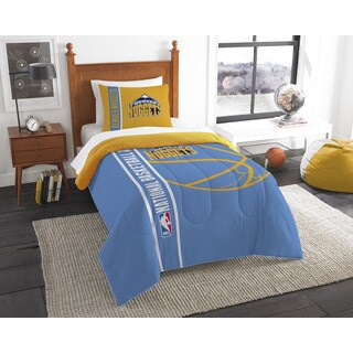 NBA 862 Nuggets Twin Printed Comforter Set