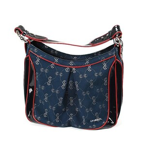 Charriol Large CC Logo Canvas Handbag