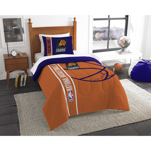 NBA 862 Suns Twin Printed Comforter Set