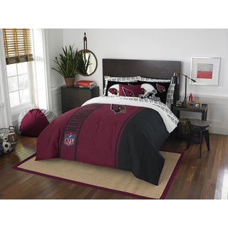 NFL 846 Cardinals Full 7-piece Bed in a Bag with Sheet Set