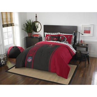 NFL 846 Bucs Full 7-piece Bed in a Bag with Sheet Set