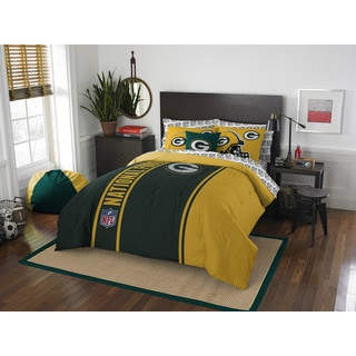 NFL 846 Packers Full 7-piece Bed in a Bag with Sheet Set