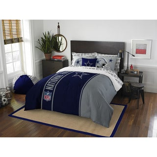 NFL 846 Cowboys Full 7-piece Bed in a Bag with Sheet Set