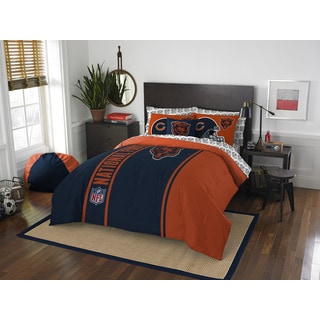 NFL 846 Bears Full 7-piece Bed in a Bag with Sheet Set