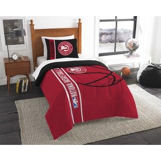 NBA 862 Hawks Twin Printed Comforter Set