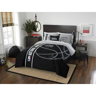 NBA 846 Spurs Full 7-piece Bed in a Bag with Sheet Set