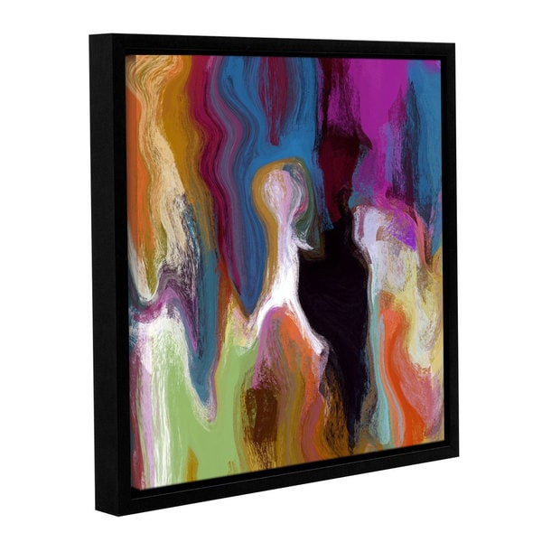 Irena Orlov's 'The Story Within III' Gallery Wrapped Floater-framed Canvas