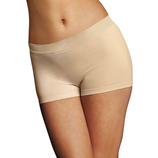 Pure Genius Women's Latte Lift Seamless Boyshorts