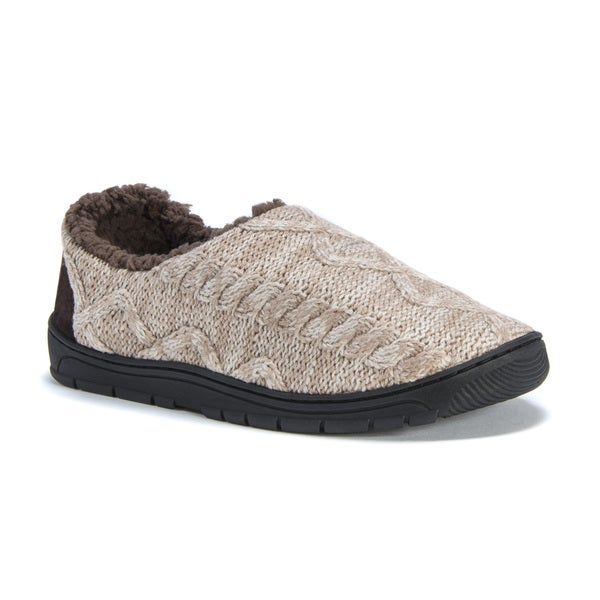 Muk Luks Men's John Tan Acrylic/Polyester Slippers