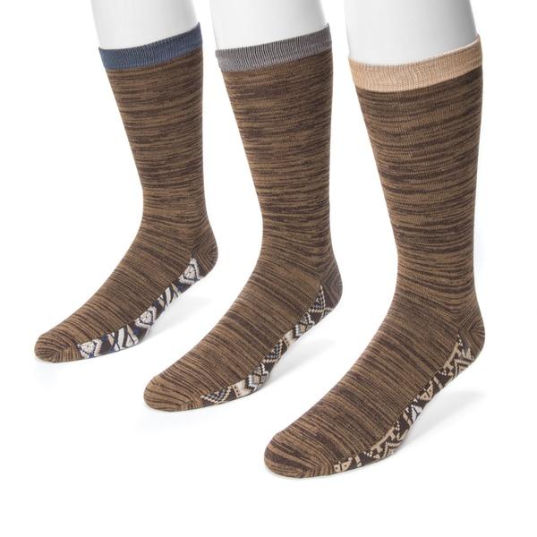 Muk Luks Men's 3-pair Sock Pack