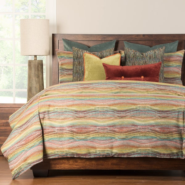 Gallery 6-piece Luxury Duvet and Comforter Insert Set King Size(As Is Item)