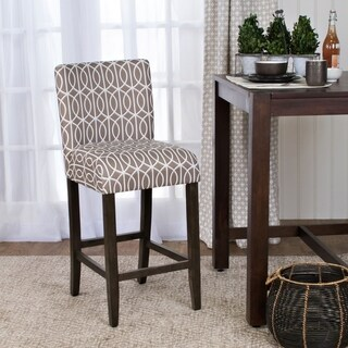 HomePop Finely 24-inch Counter Height Barstool