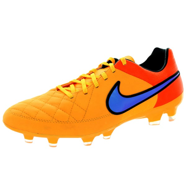 Nike Men's Tiempo Legacy Fg Lsr Orange/ Orange/Vlt Soccer Cleat