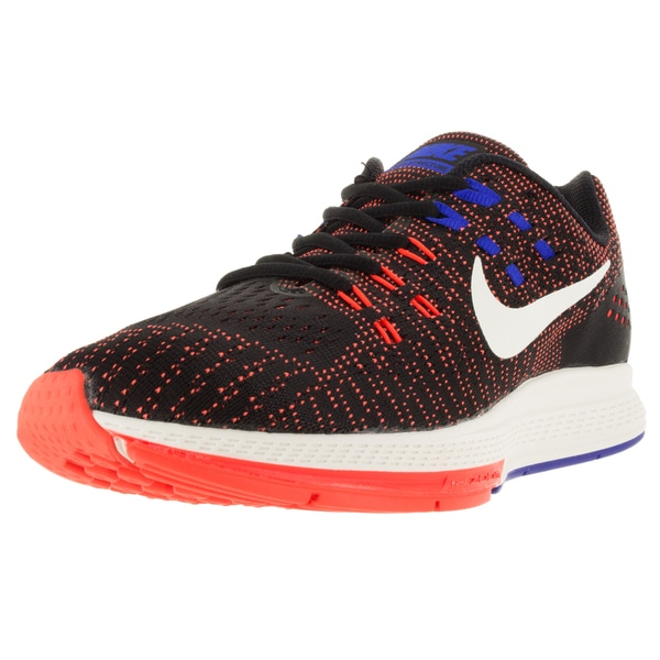 Nike Men's Air Zoom Structure 19 Black/Sail/T Crimson/ Running Shoe