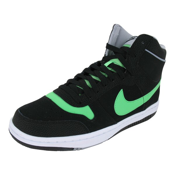 Nike Sky Team '87 Mid Blackreen/Stdm /White Basketball Shoes