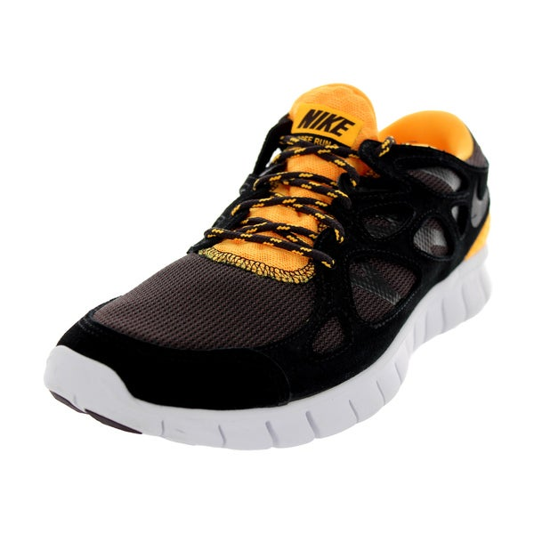Nike Men's Free Run 2 Black/Black/Laser Orange/Mdr Running Shoe