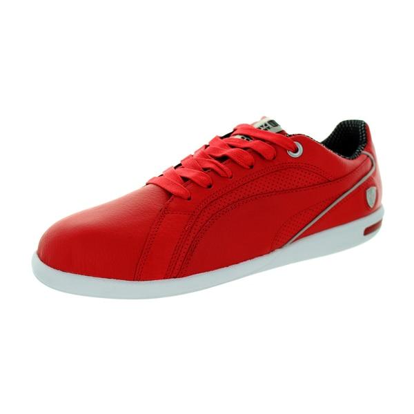 Puma Men's Primo Sf 10 Rosso Corsa/Rosso Corsa Casual Shoe