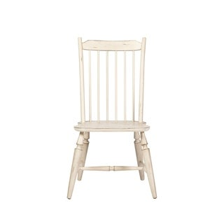 Oak Hill Farmhouse Windsor Back Side Chair