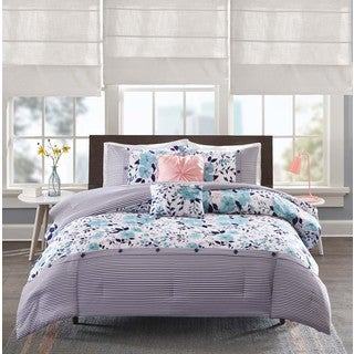 Intelligent Design Tiffany Blue 5-piece Comforter Set