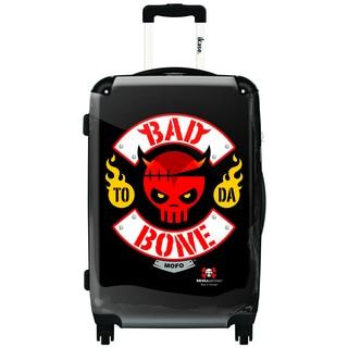 iKase 'Bad To Da Bone' 20-inch Fashion Hardside Carry-on Spinner Suitcase