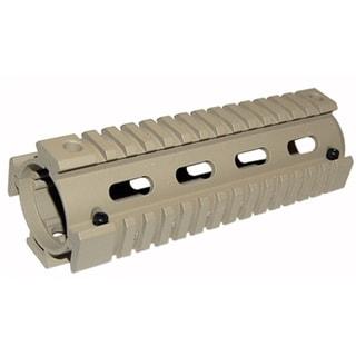 Trinity Rifle Tan Aluminum Quad Rail