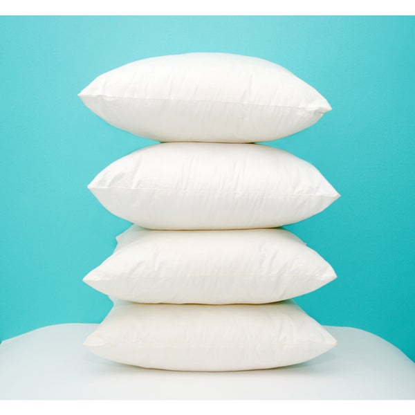 Pellon PPI Decorative Microfiber Shell 14-inch x 14-inch Pillow Form (Pack of 6)