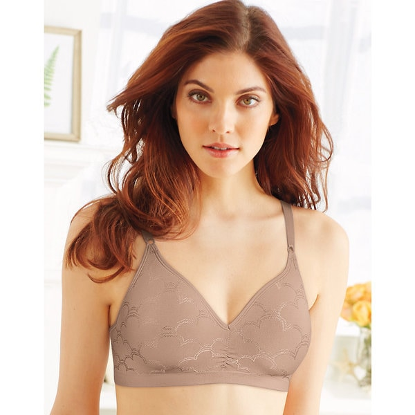 Comfort Women's Nude Revolution Convertible Wirefree Bra