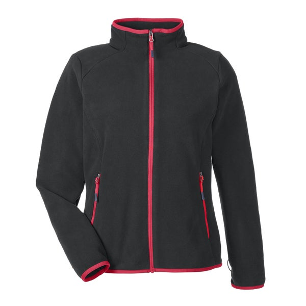 Vector Women's Black/Oly Red 461 Interactive Polartec Fleece Jacket