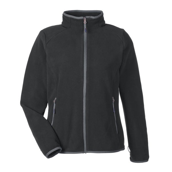 Vector Polartec 200 series Women's Black Carbon Fleece Jacket