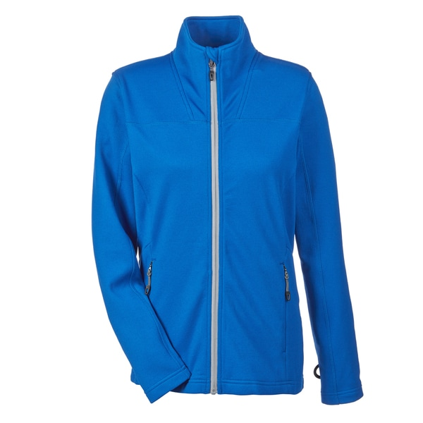 Torrent Women's Nautical Blue/Platinum Textured Performance Fleece Jacket