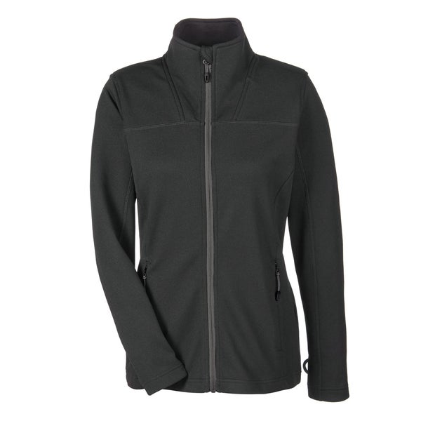 Torrent Women's Black/Grey Polyester Fleece Jacket