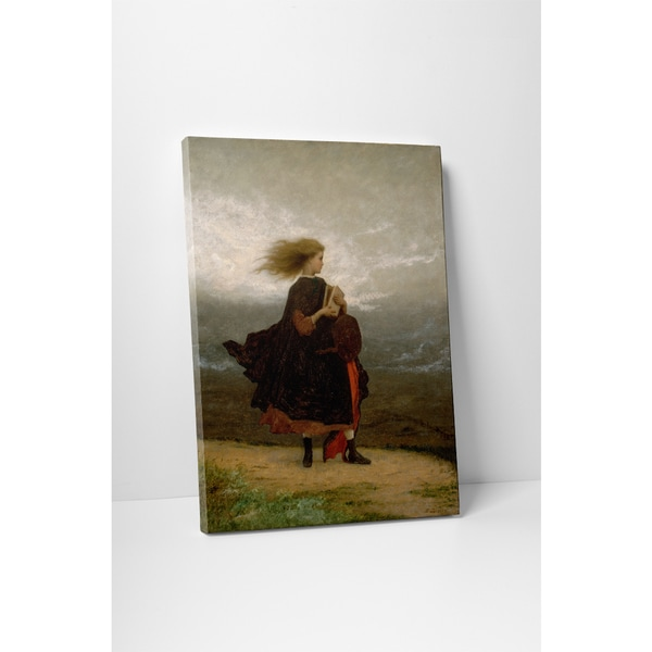 Classic Masters Johnson Eastman 'The Girl I Left Behind Me' Gallery Wrapped Canvas Wall Art