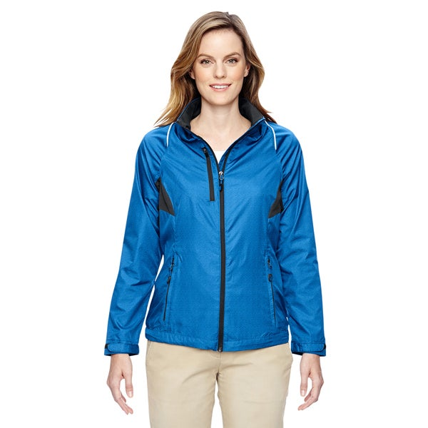 Sustain Women's Nautical Blue 413 Lightweight Recycled Polyester Dobby Jacket