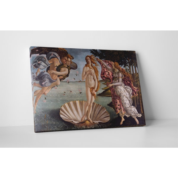 Classic Masters Sandro Botticelli 'Birth of Venus' Gallery Wrapped Canvas Wall Art