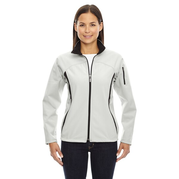 3-layer Women's 820 Natural Stone Fleece Bonded Performance Soft Shell Jacket