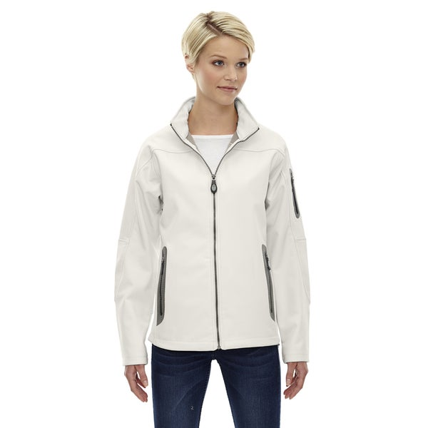 Women's 695 Crystal Quartz Fleece Bonded Soft Shell 3-layer Technical Jacket