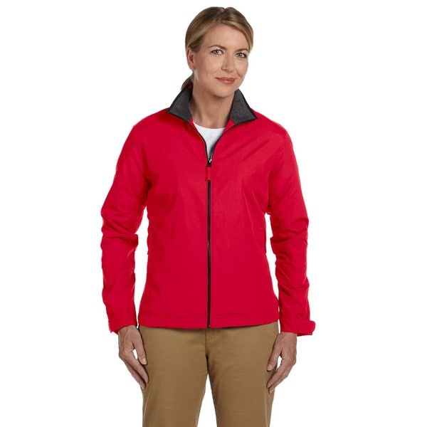 Women's Red Nylon 3-season Classic Jacket 19481045