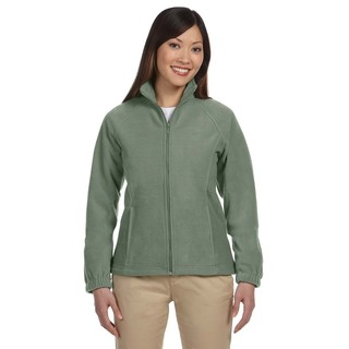 8-Ounce Women's Dill Full-Zip Fleece Jacket