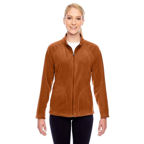 Campus Women's Burnt Orange Polyester Microfleece Sport Jacket