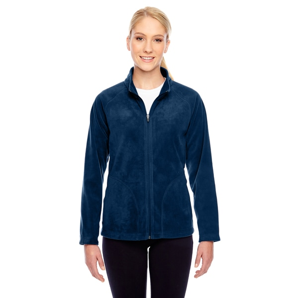 Campus Women's Dark Navy Microfleece Sport Jacket