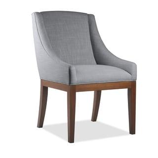 South Cone Home Vanesa Mahogany Wood/Foam/Linen Dining Chair
